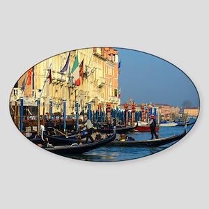 Venetian gondoliers Sticker
