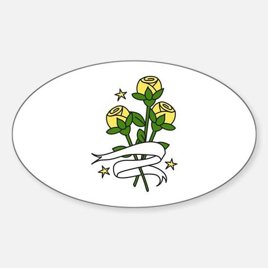 Texas Roses Decal