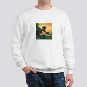 Saint Bernard Watercolor Sweatshirt