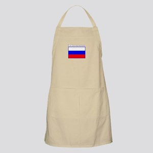 Moscow, Russia BBQ Apron