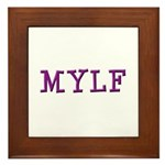 MYLF Framed Tile