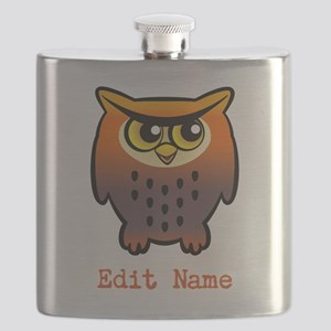 Cute Owl Flask