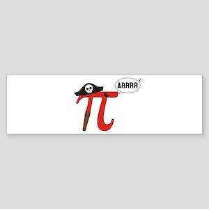 Pi R Squared Bumper Sticker