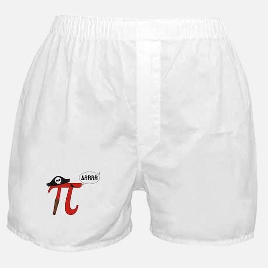 Pi R Squared Boxer Shorts