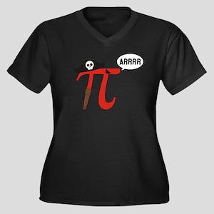 Pi R Squared Plus Size T-Shirt