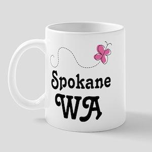 Spokane Washington Mug