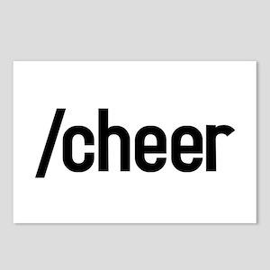 /cheer Postcards (Package of 8)