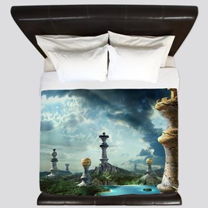 Chess Relics King Duvet