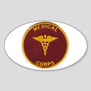 Army Medical Corps Sticker