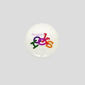 Gospel Rocks Mini Button
