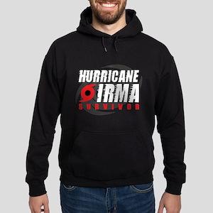 Hurricane Irma Survivor Hoodie (dark)