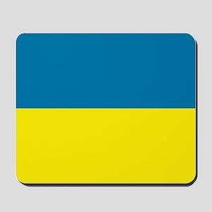 Ukranian flag Mousepad