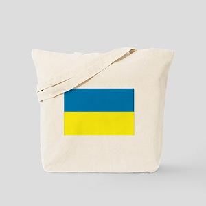 Ukranian flag Tote Bag