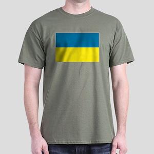 Ukranian flag Dark T-Shirt