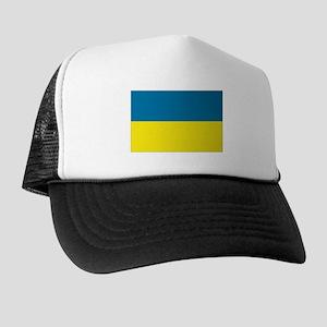 Ukranian flag Trucker Hat