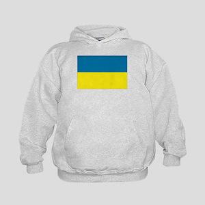 Ukranian flag Kids Hoodie
