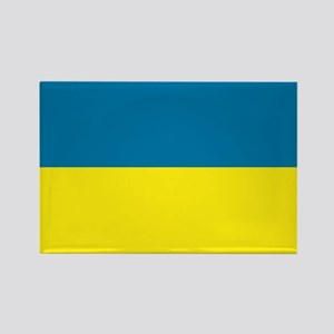 Ukranian flag Rectangle Magnet
