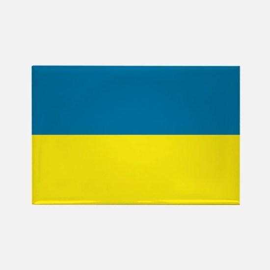 Ukranian flag Rectangle Magnet