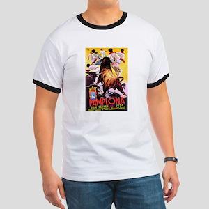 Vintage Pamplona Spain Travel T-Shirt