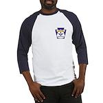 Masonic Police Thin Blue Line Baseball Jersey