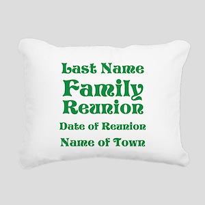 Family Reunion Rectangular Canvas Pillow