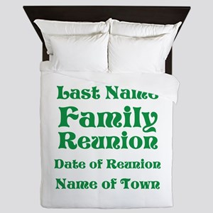 Family Reunion Queen Duvet