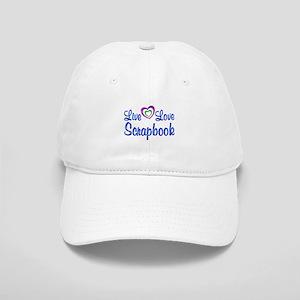 Live Love Scrapbook Cap
