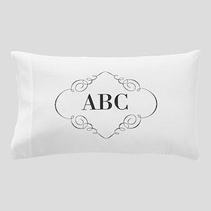 Vintage Monogram Pillow Case