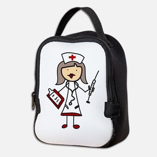 Nurse Neoprene Lunch Bag