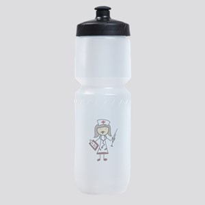 Nurse Sports Bottle