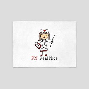 Real Nice 5'x7'Area Rug