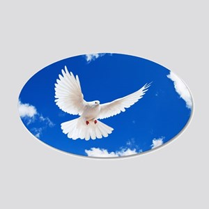 Purity Dove Wall Decal