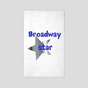 Broadway Star 3'x5' Area Rug