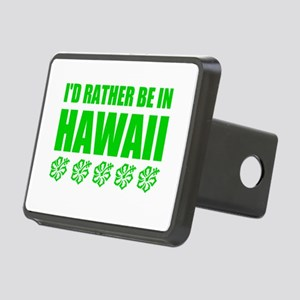 I'd Rather Be In Hawaii Hitch Cover