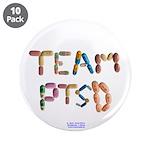 "Team Ptsd Button 3.5"" Button (10 Pack)"