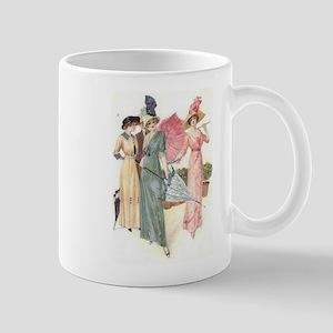 Triad Of Edwardian Ladies Mug