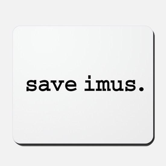 save imus. Mousepad