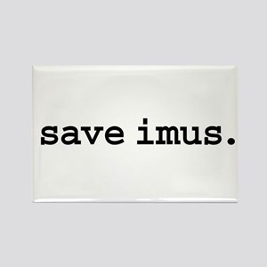 save imus. Rectangle Magnet