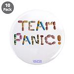 "Team Panic! 3.5"" Button (10 Pack)"