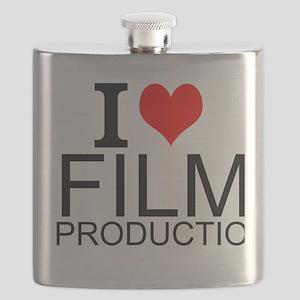 I Love Film Production Flask