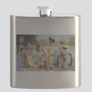 Regency Ladies Tea Party Flask