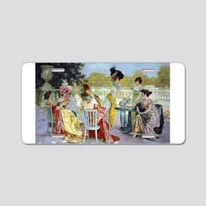 Regency Ladies Tea Party Aluminum License Plate