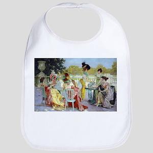Regency Ladies Tea Party Bib
