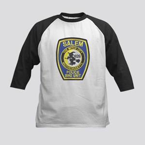 Salem Bike Police Kids Baseball Jersey