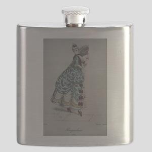 Pretty Pompadore Flask