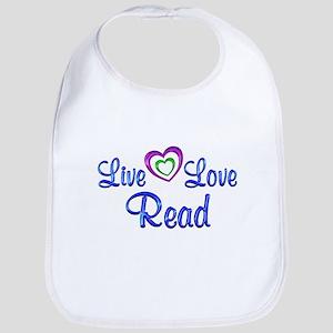 Live Love Read Bib