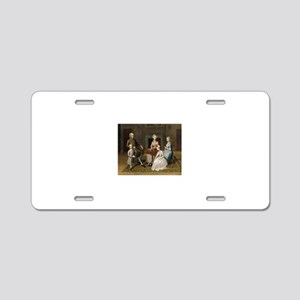 Happy Colonial Family Aluminum License Plate