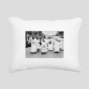 Suffragettes Rectangular Canvas Pillow