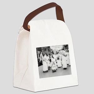 Suffragettes Canvas Lunch Bag