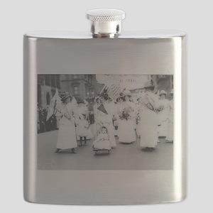 Suffragettes Flask